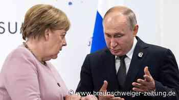 Konflikte: Merkel fordert Deeskalation in der Ostukraine