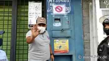 """""""Makabre"""" Aktion in Venezuela: Stadt markiert Häuser von Covid-Patienten"""