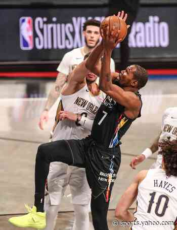 Kevin Durant perfect in return to Nets after long injury layoff
