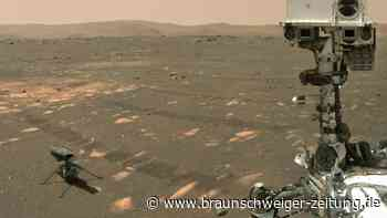 Raumfahrt: Nasa-Rover macht Selfie mit Mars-Hubschrauber