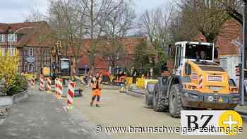 Ortsdurchfahrt Isenbüttel: Erstes Etappenziel in Reichweite