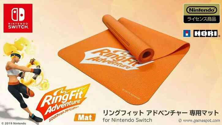 Ring Fit Adventure Is Getting An Official Exercise Mat