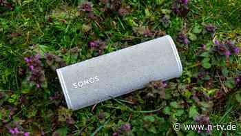 Wasserdichter Begleiter: Der Sonos Roam ist mehr als ein Picknicker