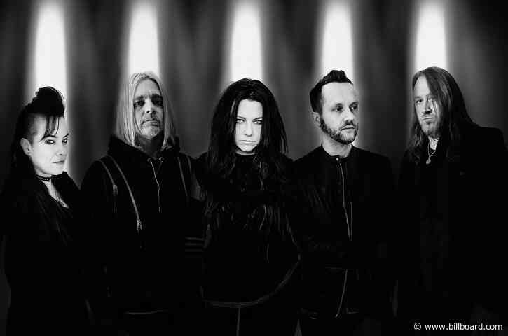 Evanescence Scores Second Hard Rock Albums No. 1 With 'The Bitter Truth'