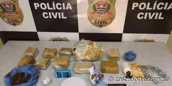 Polícia Civil de Pederneiras prende um casal por tráfico de drogas e apreende 3,4 kg de drogas - Jornal Costa Norte