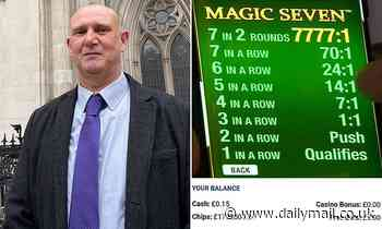 Blackjack player, 54, who won court victory over Betfred over £1.7m jackpot won't gamble again