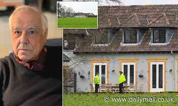 Man arrested after one of UK's richest men, 83, was stabbed to death at his £2m Dorset mansion