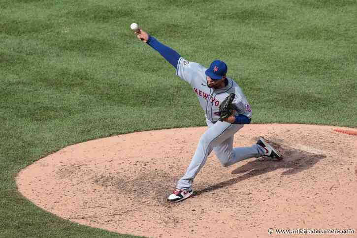 Mets Place Dellin Betances On Injured List, Call Up Trevor Hildenberger