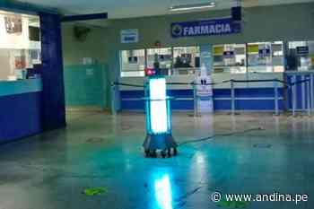 Coronavirus: Hospital Regional de Huacho desinfecta ambientes con luz ultravioleta - Agencia Andina