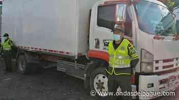 Autoridades recuperaron furgón que había sido robado en Natagaima - Ondas de Ibagué