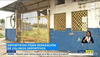 Dirigentes deportivos de Colón exigen construcción de nuevo estadio Roberto Mariano Bula - TVN Noticias