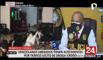 Jefe de Criminalidad Extranjera detalla liberación de detenidos en Bunker de Chosica | Panamericana TV - Panamericana Televisión