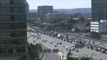 Southbound I-25 Closed In Denver Tech Center Due To Multi-Car Crash