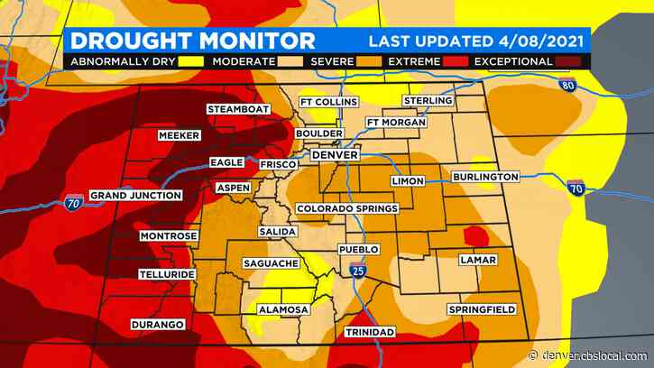 No Change In Colorado's Drought Severity This Week