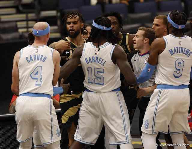 Lakers News: Talen Horton-Tucker Suspended For Altercation In Win Over Raptors; Montrezl Harrell Fined