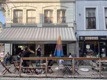 Soepeler regeling voor terrassen om horeca wat perspectief te geven - Het Nieuwsblad
