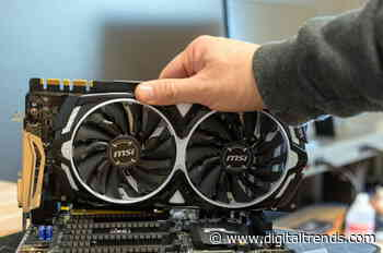 Here's why Nvidia might start selling the GTX 1080 Ti, a four-year old GPU