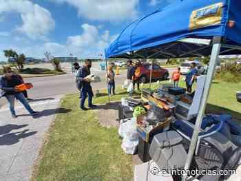 Punta Mogotes: Se juntó una tonelada de desechos tecnológicos - Puntonoticias