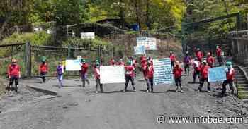 Mineros de Muzo (Boyacá) en huelga porque tienen sus contratos suspendidos desde hace un año - infobae