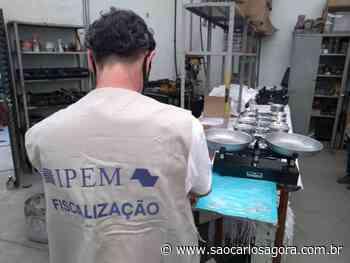 Ipem-SP verifica balanças no fabricante em Itirapina - São Carlos Agora