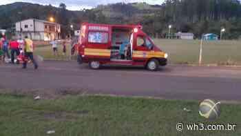 Motociclista ferido em acidente no centro de Barra Bonita - WH3