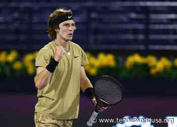 Andrey Rublev not taking Marin Cilic for granted ahead of Miami clash - Tennis World USA