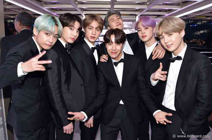 BTS Go Tri-Lingual on Billboard Global Excl. U.S. Chart With Debut of 'Film Out'