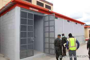 Construyen celdas de meditación en el módulo de Máxima Seguridad de Támara - cholusatsur.com