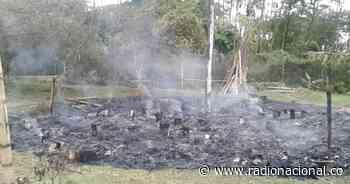Cauca: incendian 'Casa del Pensamiento' indígena en Caldono - Radio Nacional de Colombia