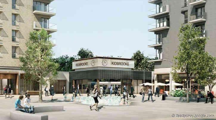 Kidbrooke station's new ticket office opens