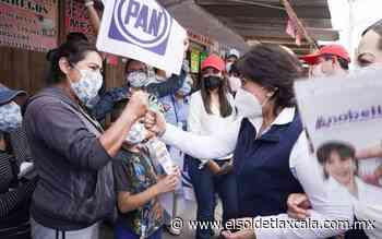 En gira por Calpulalpan, reciben con afecto a Anabell Ávalos - El Sol de Tlaxcala