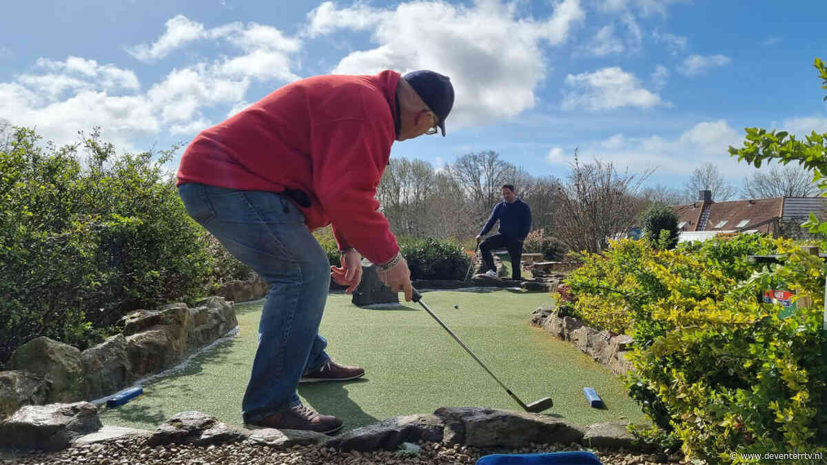 Het razend populaire Adventure Golf strijkt in clubvorm neer op Bussloo - DRTV - Deventer Radio en Televisie