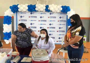 Nildinha Teles acompanha aplicação das vacinas em Chapadinha (MA) - Agência Republicana de Comunicação (ARCO - Republicanos10)