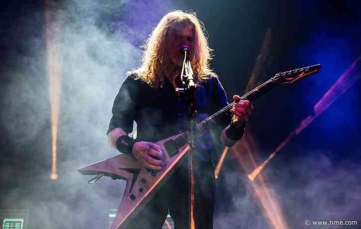 """Megadeth launch """"one-for-one"""" Vic Rattlehead NFT"""