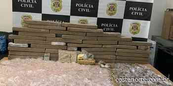 Polícia Civil de Franco da Rocha detém dois e apreende mais de 100 kg de drogas - Jornal Costa Norte