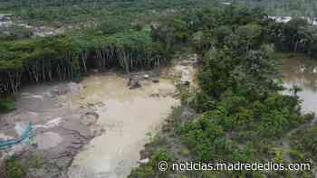 Realizan operativo contra la minería ilegal en la Reserva Nacional de Tambopata - Radio Madre de Dios