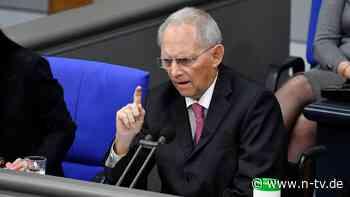 """Einheitliche Corona-Maßnahmen: Schäuble: """"Es kann schnell gehen"""""""