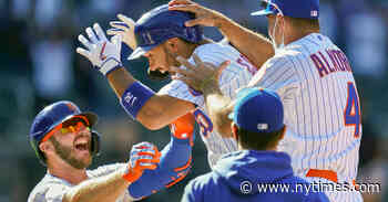 Mets Get Controversial Win on Walk-Off Hit-by-Pitch