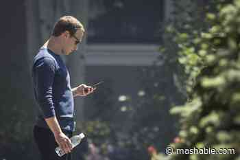 Mark Zuckerberg is using Signal, according to phone number leaked in Facebook hack - Mashable