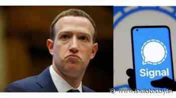 Leaked phone number of Mark Zuckerberg reveals he is on Signal - India Today