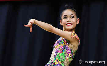 Chu finishes eighth in junior all-around competition at 2021 International Rhythmic Gymnastics Tournament Sofia Cup, will compete in ball and ribbon apparatus finals - usagym.org