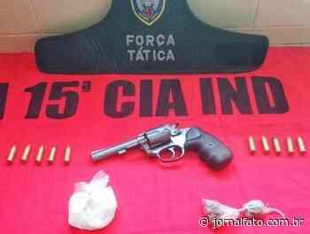 Polícia prende quatro com arma e drogas em Mimoso do Sul - Jornal FATO