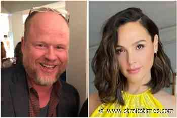 Director Joss Whedon allegedly threatened actress Gal Gadot on Justice League set - The Straits Times