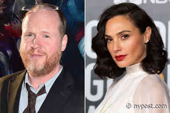 'She's going to shut up': Joss Whedon accused of verbally abusing Gal Gadot - New York Post