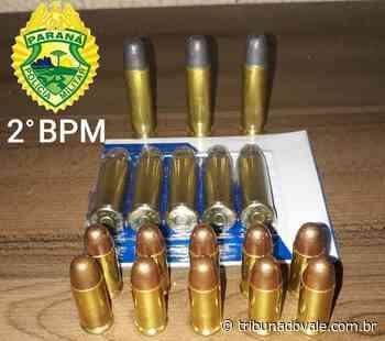 Apreensão de drogas e munições em Ibaiti – Tribuna do Vale - Tribuna do Vale