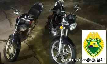 Presos com moto furtada em Ibaiti – Tribuna do Vale - Tribuna do Vale