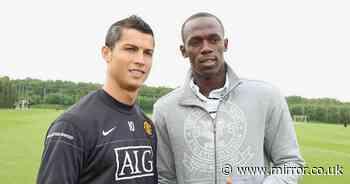 "Usain Bolt answers ""difficult"" Cristiano Ronaldo or Lionel Messi question - Mirror Online"