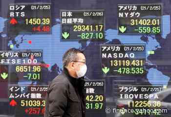 Asia shares set for choppy session after S&P 500 hits record high - Yahoo Finance