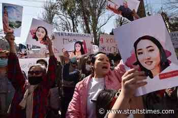 Hundreds protest in Kyrgyzstan after bride kidnap and murder - The Straits Times