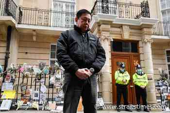 Ousted Myanmar ambassador tells UK to reject junta's envoys - The Straits Times